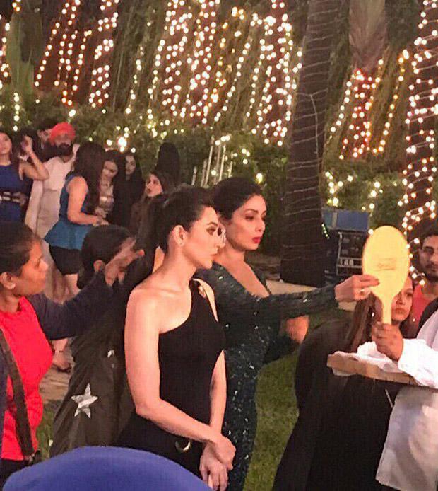 Sridevi's cameo in Zero: Karisma Kapoor shares BTS still with the legendary actress