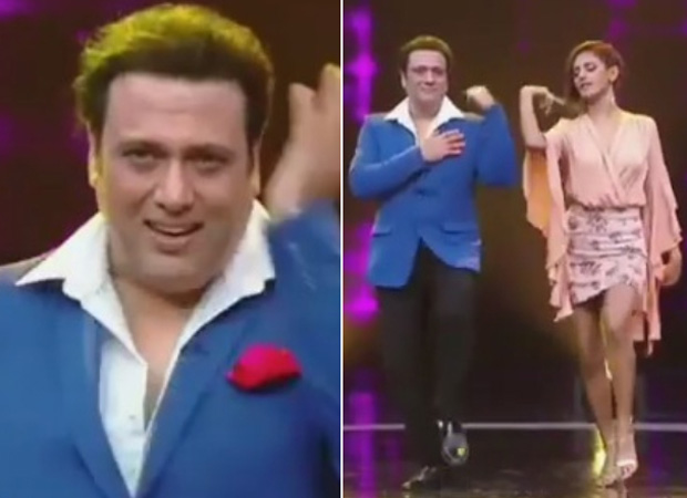 WATCH: Govinda's dance moves on 'Husn Hai Suhana' with Shakti Mohan