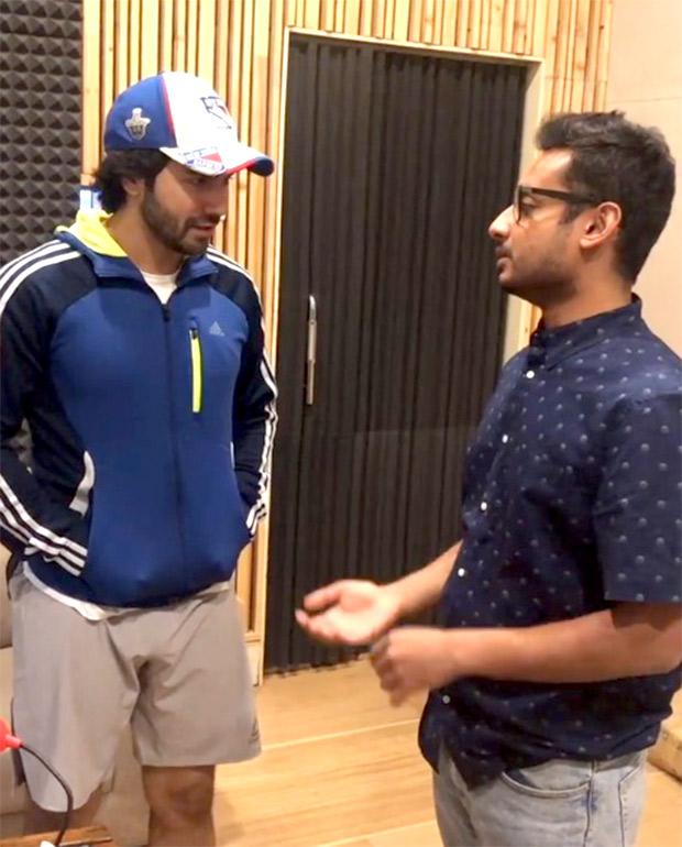 WATCH Varun Dhawan does vocal exercises, leaves Arjun Kapoor wondering 'WTF is going on'