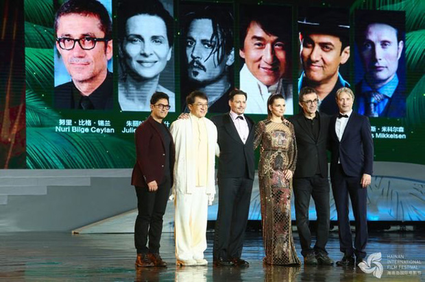 WOW! Aamir Khan shares stage with actors Johnny Depp, Jackie Chan and Mads Mikkelsen in China