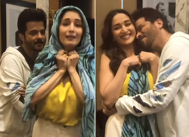 #30YearsOfRamLakhan Madhuri Dixit and Anil Kapoor relive their romance by recreating 'Bada Dukh Dina' and 'My Name Is Lakhan'