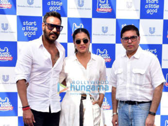 Ajay Devgn and Kajol grace the Hindustan Unilever Limited Plastic Banega Fantastic event