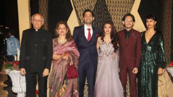Alia Bhatt's sister Sakshi Bhatt's Royal Wedding Reception Family Visuals