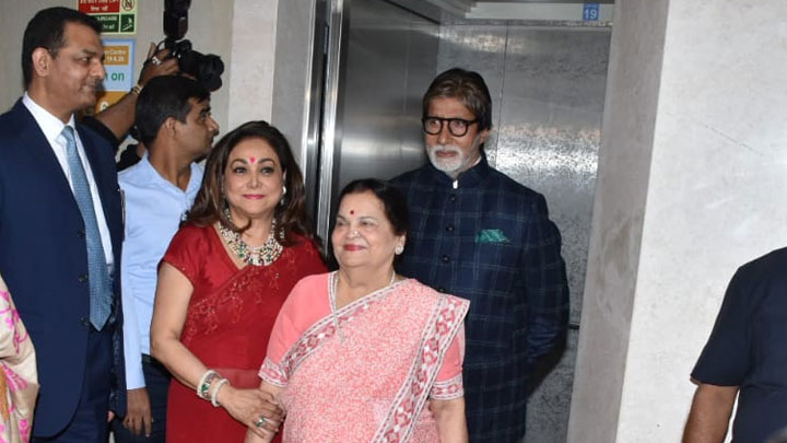 Amitabh Bachchan, Boney Kapoor and others attend Kokilaben Ambani Hospital's Decade Of Distinction