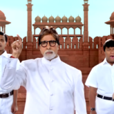 Amitabh Bachchan is honoured to perform National Anthem in sign language with special children