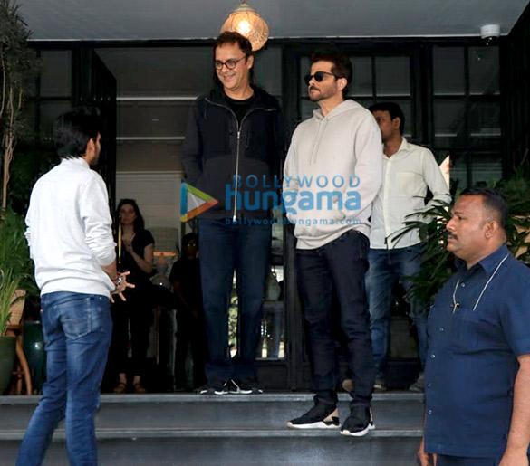 Anil Kapoor, Sonam Kapoor Ahuja and Kriti Sanon spotted at Soho House in Juhu