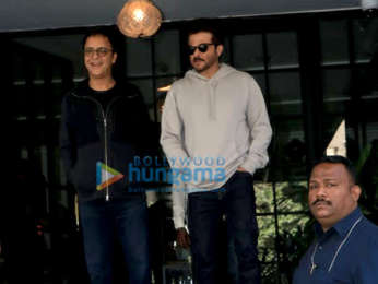 Anil Kapoor, Sonam Kapoor Ahuja and Kriti Sanon spotted at Soho House in Juhu