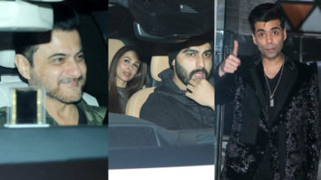 Arjun Kapoor with GF Malaika Arora, Karan Johar and others at Sanjay Kapoor's New Year Bash