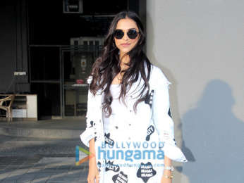 Deepika Padukone snapped at Facebook office for fan interaction