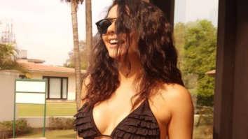 HOTNESS ALERT! Ruhi Singh flaunts her curves in bikini as she rings in New Year in style