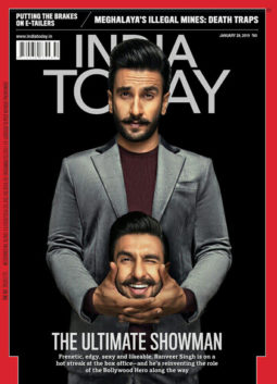 Ranveer Singh on the cover of India Today, Jan 2019