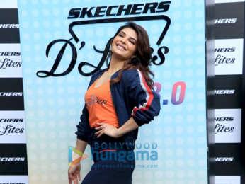 34cb90a5ff Jacqueline Fernandez graces the launch of Skechers new range ...