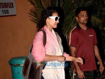 Kajol and Aditi Rao Hydari snapped in Mumbai