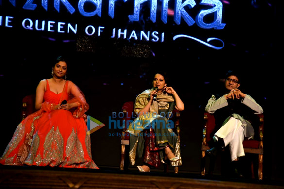 Kangana Ranaut graces the launch of the music from her film Manikarnika