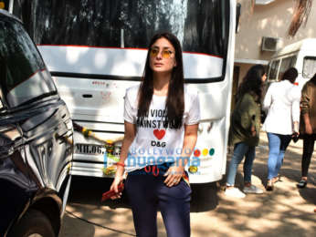Kareena Kapoor Khan snapped at Mehboob studio in Bandra
