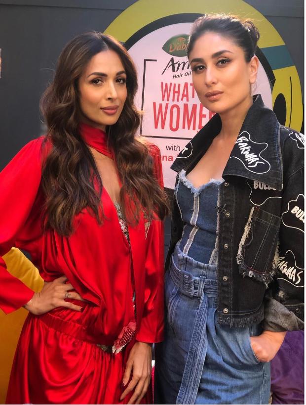 Malaika Arora in Alena Akhmadullina for What Women Want with Kareena Kapoor Khan (4)