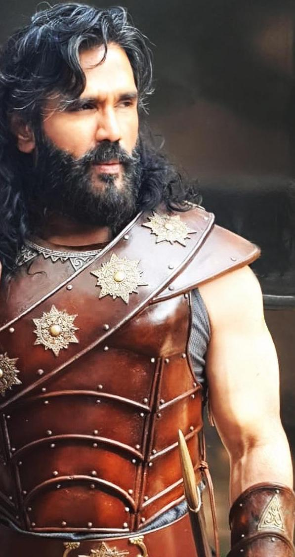 Marakkar – The Lion Of The Arabian Sea Suniel Shetty to feature as a warrior in this period drama starring Mohanlal and Prabhu Dheva
