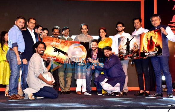 Nawazuddin Siddiqui graces the music launch of the film Thackeray