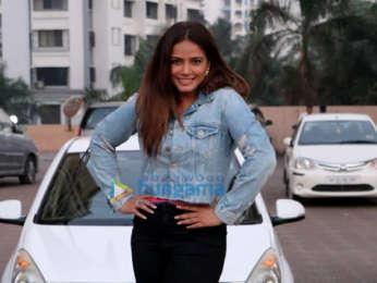 Neetu Chandra snapped in Juhu