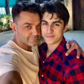 On his 50th birthday, Bobby Deol shares a rare photo with his handsome son Aryaman