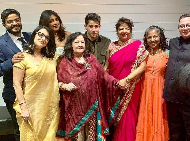 Priyanka Chopra and Nick Jonas host another reception in Belmont