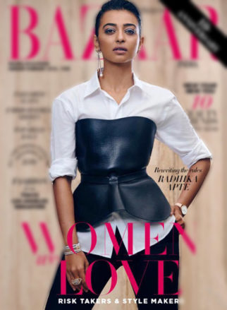 Radhika Apte for Harper's Bazaar India (Featured)