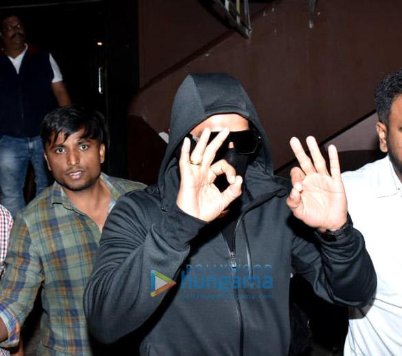 Ranveer Singh spotted at Gaiety Galaxy in Bandra