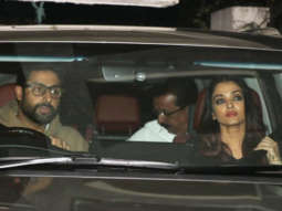 SPOTTED Abhishek Bachchan, Aishwarya Rai Bachchan and others at Sonali Bendre's House in Juhu