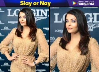Slay or Nay - Aishwarya Rai Bachchan in Fjolla Nila for Longines event in Kuwait (Featured)