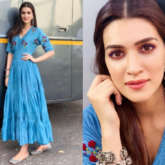 Slay or Nay - Kriti Sanon in The Right Cut and Needledust juttis for Luka Chuppi promotions (Featured)