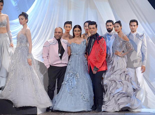 Tabu and Karan Johar turn showstoppers for Gaurav Gupta opening show for LFW 2019 Summer Resort (Featured) (1)