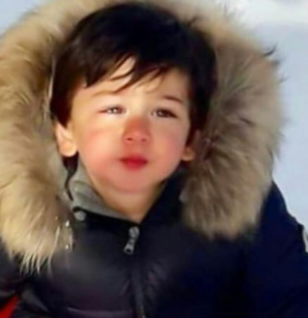 Taimur Ali Khan is a little 'snow baby' while enjoying with dad Saif Ali Khan in the Swiss Alps