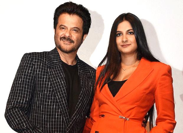 Anil Kapoor and Rhea Kapoor