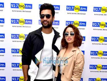 Yami Gautam and Vicky Kaushal promote 'Uri' at the 92.7 Big FM office