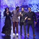 Anil Kapoor and Janhvi Kapoor for Raghavendra Rathore at LFW 2019 Summer Resort (1)