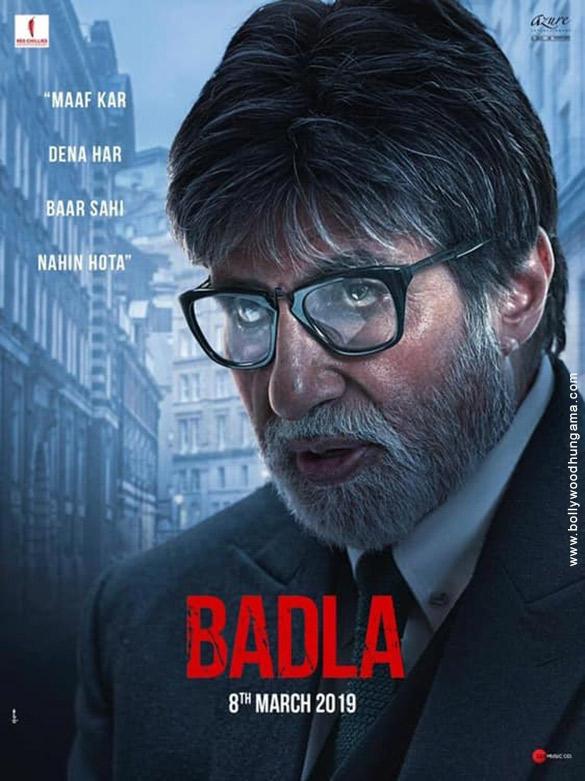 BADLA (2019) con A. BACHCHAN + Sub. Español Badla-3
