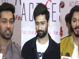 Bollywood Celebrities Talk about Pulwama Terror Attack at Cintaa Actfest Event Vicky Kaushal Shreyas Talpade Part 2