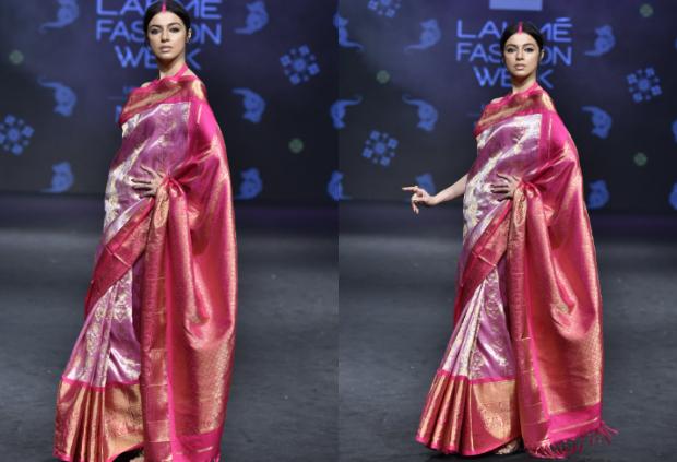 Divya Khosla Kumar for Parvathi Dasari at LFW 201 (1)