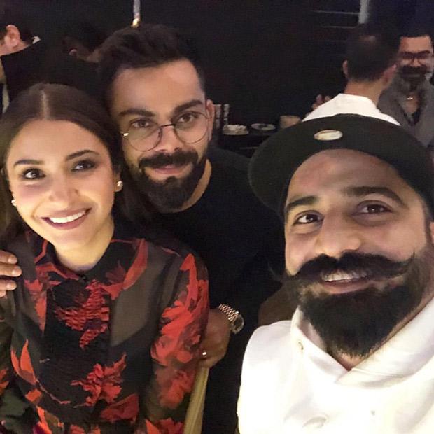 Valentine's Day Special – Anushka Sharma and Virat Kohli spend time over dinner