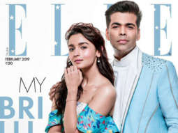 Alia Bhatt, Karan Johar On The Cover Of Elle