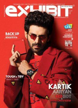 Kartik Aaryan On The Covers Exhibit