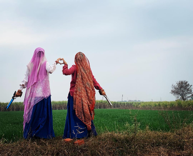 FIRST LOOK: Bhumi Pednekar and Taapsee Pannu are all about guns and their desi avatars in Saand Ki Aankh
