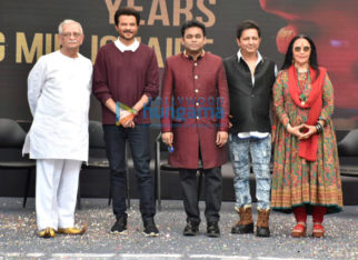 Gulzar, Anil Kapoor, AR Rahman and others attend the 10 Years Musical Journey of Slumdog Millionaire celebration