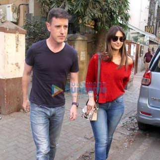 Ileana D'cruz snapped with boyfriend Andrew Kneebone at Indigo, Bandra