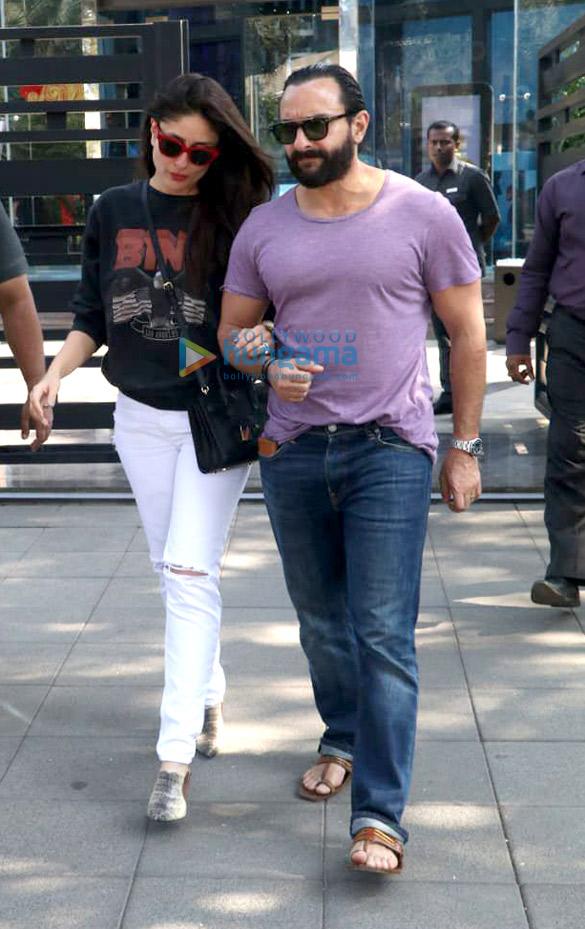 Kareena Kapoor Khan and Saif Ali Khan snapped post lunch at Yauatcha, BKC (4)