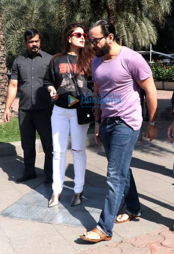 Kareena Kapoor Khan and Saif Ali Khan snapped post lunch at Yauatcha, BKC (5)