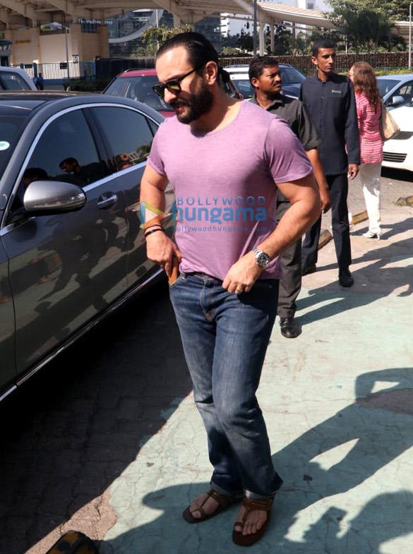 Kareena Kapoor Khan and Saif Ali Khan snapped post lunch at Yauatcha, BKC (6)