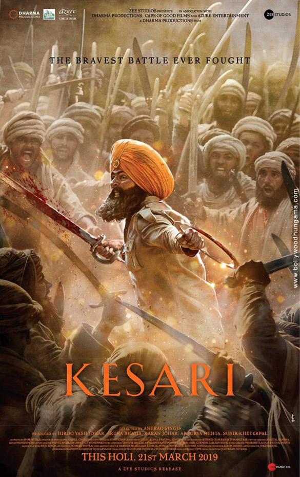 KESARI (2019) con AKSHAY KUMAR + Esperando Estreno Kesari-6