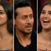 Koffee With Karan 6: SOTY 2's Tara Sutaria hints at having crush on Sidharth Malhotra, Tiger Shroff and Tara admit Ananya Panday is the biggest flirt on Karan Johar's show