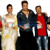 Krushna Abhishek and Mugdha Godse launch the music of the film Sharma Ji Ki Lag Gai